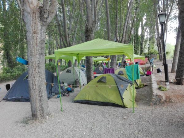 Grupos y campamentos